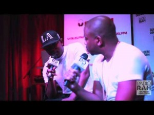 Raheem DeVaughn Interview with Kendrick Lamar + Freestyle
