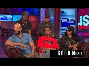 G.O.O.D. Music Crew Interview w/ Fuse