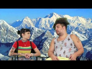 Kreayshawn vs. Fat Jew 