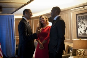 Obama Meets Jay & Bey