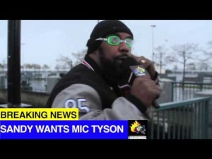 Sean Price Reports Live From Hurricane Sandy +