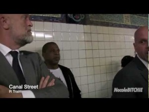 Jay-Z Took The Subway To Barclays Center
