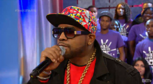 Macklemore & Ryan Lewis, Big Boi, and Swizz Beatz on 106 & Park