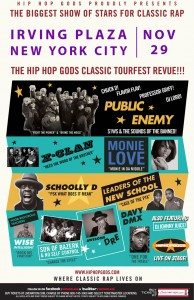 Win Tickets To See Public Enemy, Leaders Of The New School, Monie Love, Schoolly-D, X-Clan, and More In NYC 