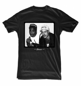 Guru + Tupac T-Shirt by The X Label