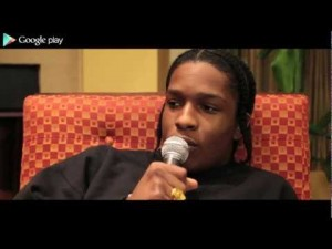 Google Play: A$AP Rocky Interview