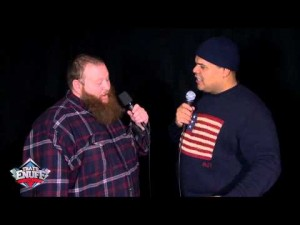 Action Bronson Hangs Out with DJ Enuff