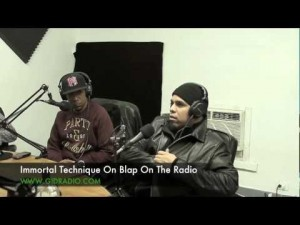 Immortal Technique Interview On Blap On The Radio