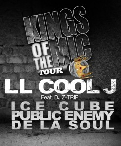 LL Cool J, Ice Cube, Public Enemy, De La Soul Unite For