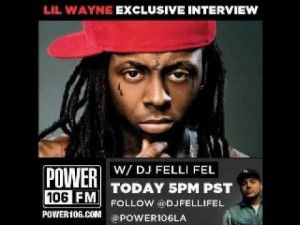 Lil Wayne's First Post-Hospital Interview
