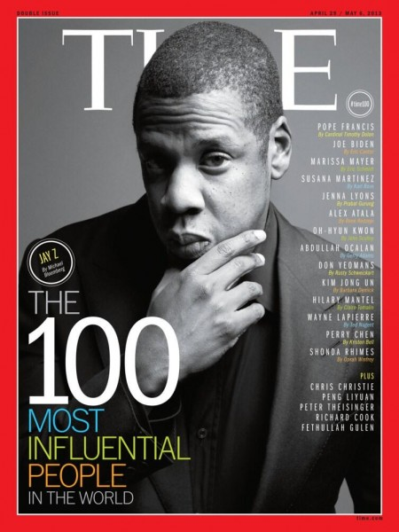 Jay-Z On The Cover Of TIME Magazine
