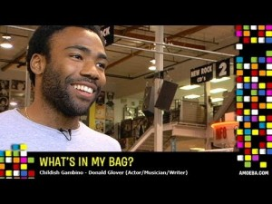 Amoeba What's In My Bag: Childish Gambino