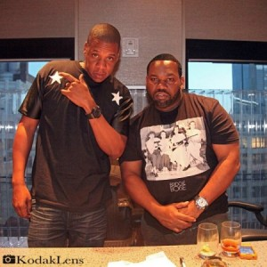 Here Is A Picture Of Jay-Z & Raekwon.