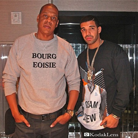 Jay-Z & Drake In The Studio