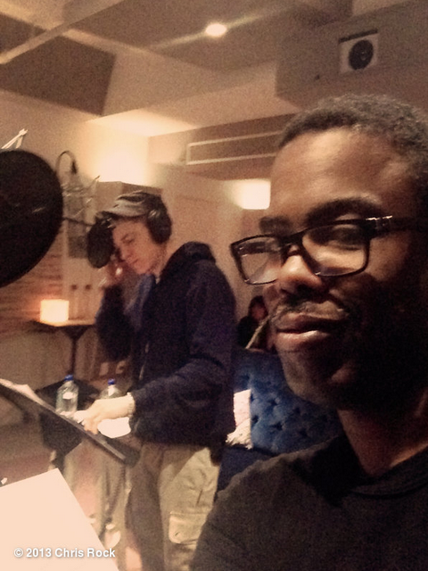 Chris Rock In The Studio With Eminem
