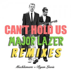 "Macklemore & Ryan Lewis – ""Can't Hold Us (Major Lazer Remix)"" (feat. Swappe + 1st Klase) [Free Download]"