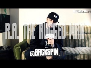 Backspin TV: R.A. The Rugged Man Interview
