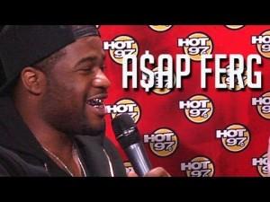 Hot 97: A$AP Ferg Interview
