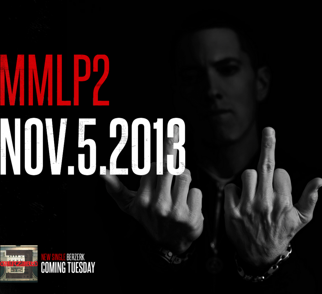 Eminem Will Release His New Album,