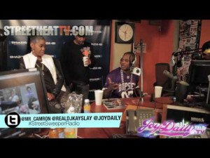 StreetSweeper Radio: Cam'ron Interview