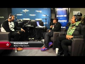 Sway In The Morning: Ransom Interview + Freestyle