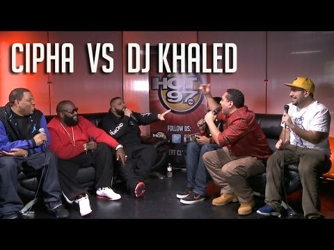 Hot 97: Cipha Sounds vs. DJ Khaled