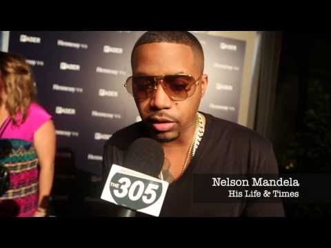 Nas Talks Nelson Mandela