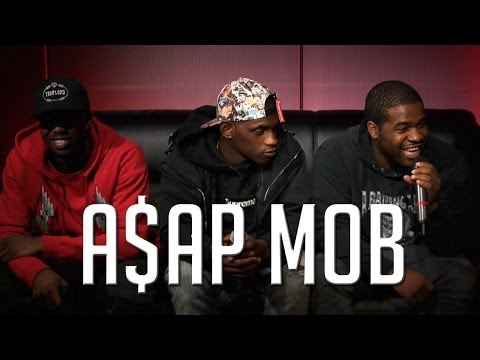 Hot 97: A$AP Mob Interview