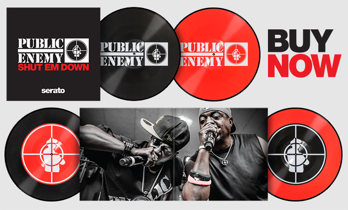 Serato + Public Enemy Limited Edition