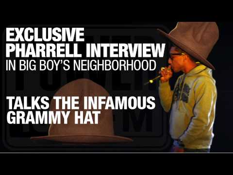 Pharrell Speaks On Infamous Grammys Hat & More