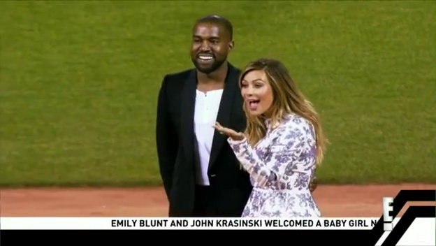 Kanye Proposes To Kim On