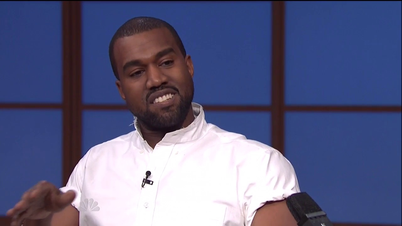 Kanye On Late Night w/ Seth Meyers