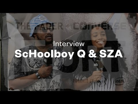 ScHoolboy Q & SZA - Interview at The FADER FORT