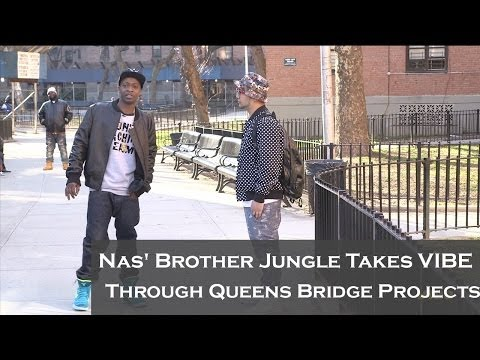 Nas' Brother Jungle Shows Where Illmatic's Cover Was Shot