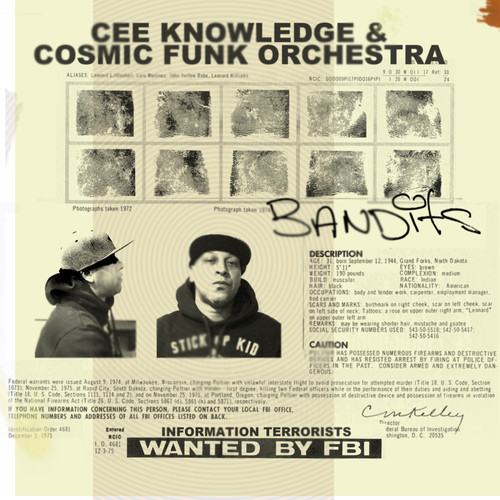 Cee Knowledge (Digable Planets) + Cosmic Funk Orchestra -