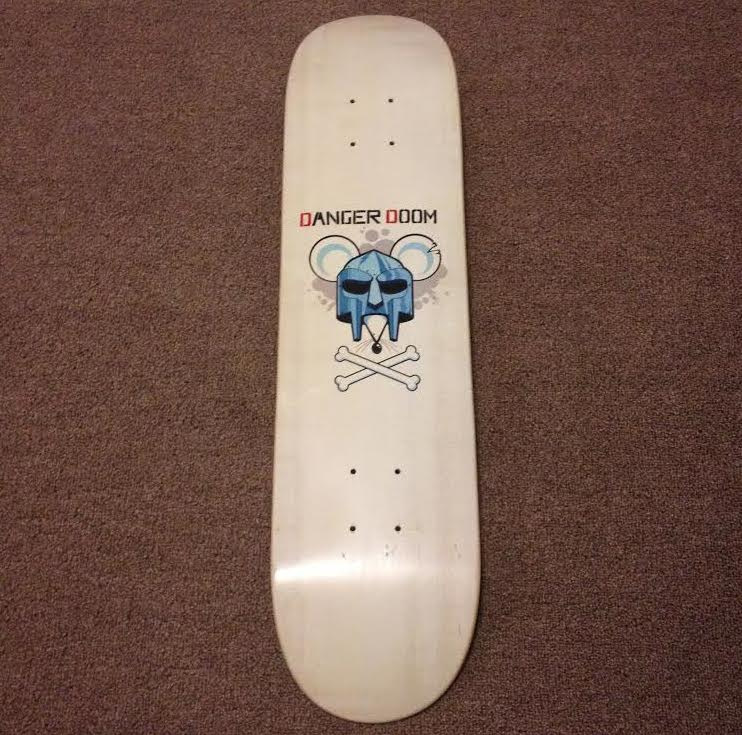 When We Hit 10K Followers On Twitter, Someone Gets This DangerDoom Skateboard