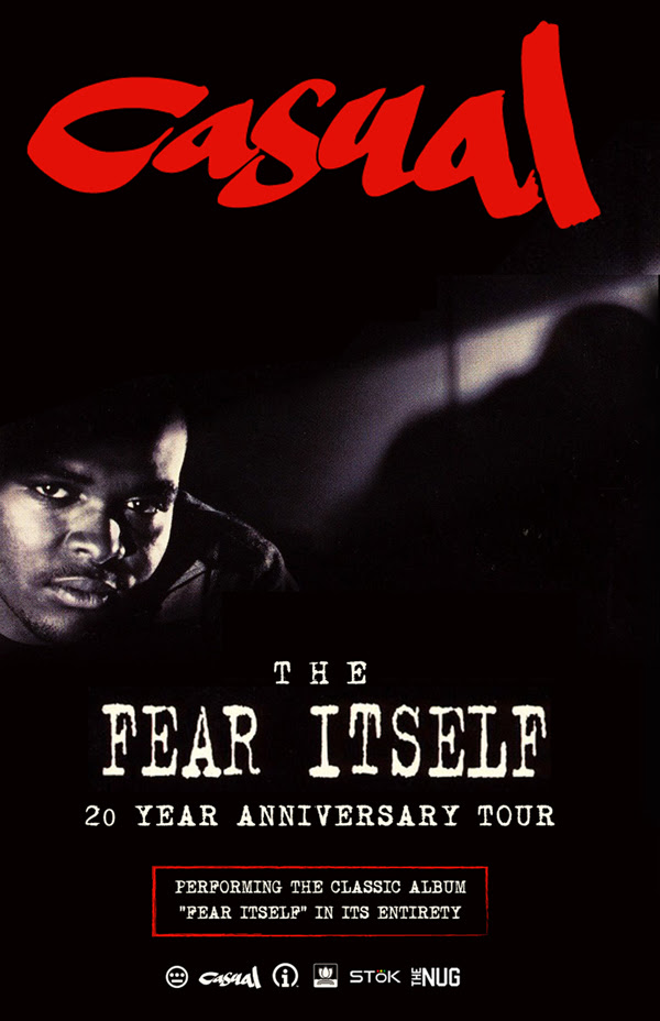 Hieroglyphics Co-Founder Casual Celebrates 20-Year Anniversary of Fear Itself with Tour & Remastered Instrumentals