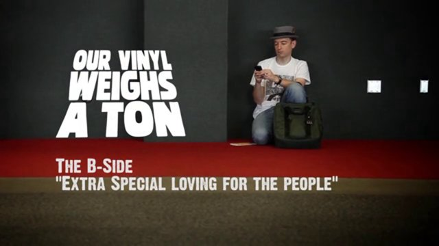Stones Throw's Our Vinyl Weighs A Ton: The B Side