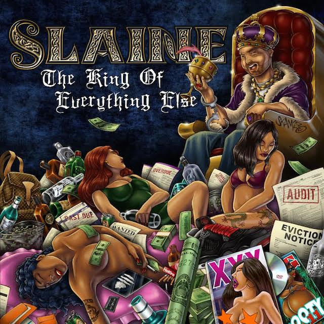 "Slaine – ""The King of Everything Else"" (Cover Art & Tracklist)"