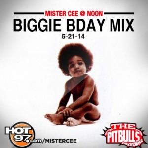 Mister Cee: Biggie Bday Mix 5-21-14