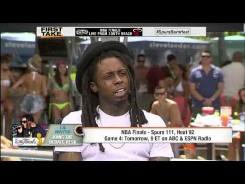 Lil Wayne Talks NBA Finals