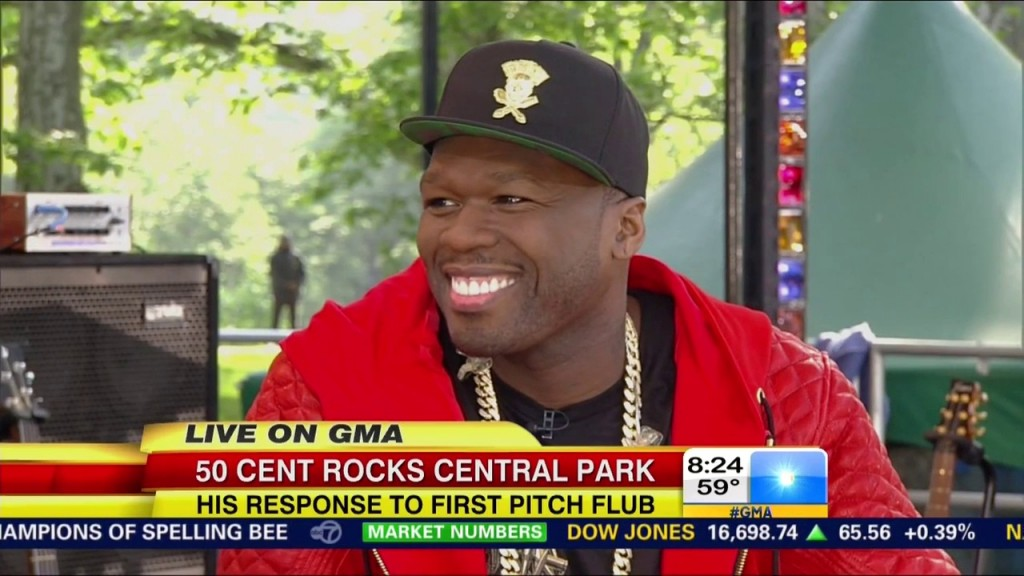 Good Morning America: 50 Cent Interview
