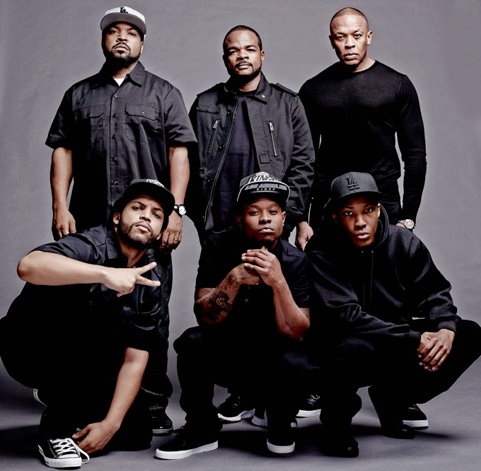 First Photo Of Cast From N.W.A. Biopic,