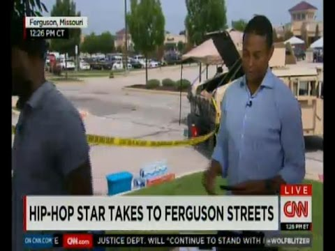 Talib Kweli + Killer Mike Talk Ferguson On CNN