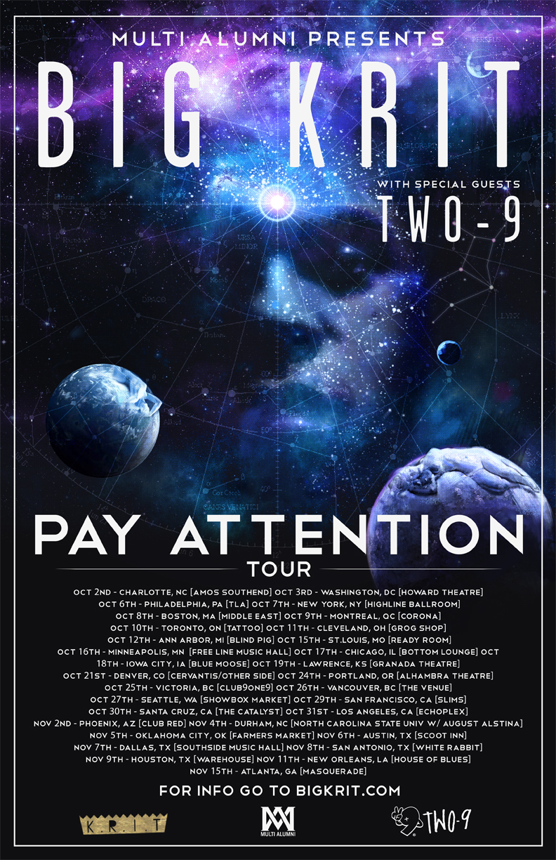 Big K.R.I.T. Announces 31 Date North American Tour