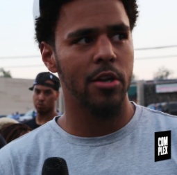 J. Cole Visits Ferguson And Talks About Mike Brown