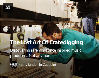 Cuepoint: The Lost Art Of Cratedigging