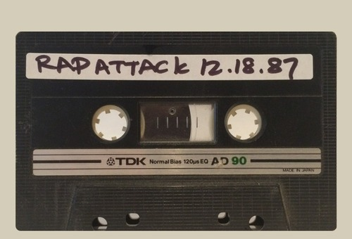 Cassette Culture w/ Stretch Armstrong: WBLS Rap Attack • December 18, 1987