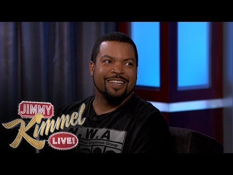 Kimmel: Ice Cube on the N.W.A. Movie