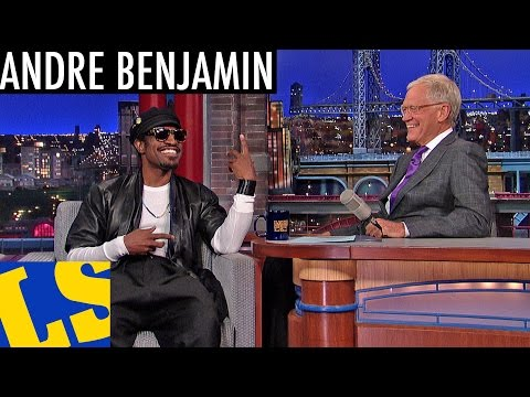 Letterman: André Benjamin on Playing Jimi Hendrix